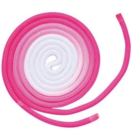 Corda Multicolore (term. Colorato) - 11.Rosa