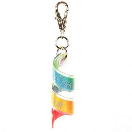 Mini gradation ribbon key ring