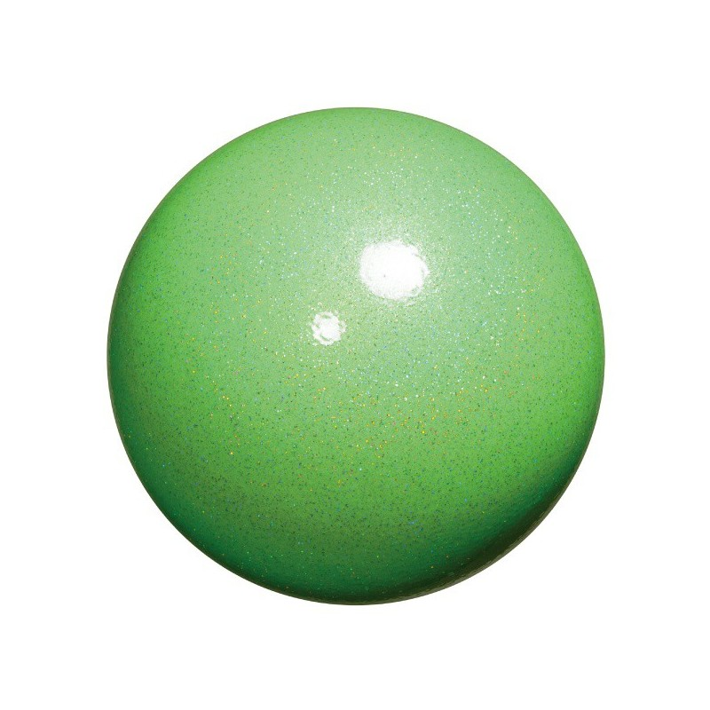 Chacott prism ball apple green gym sport