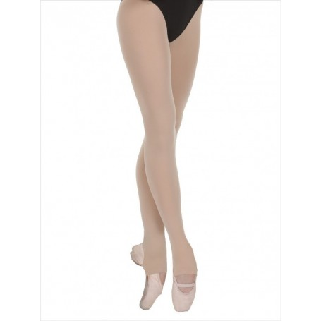 Tights Heel Cut-Out Beige