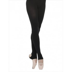 Tights Heel Cut-Out Black