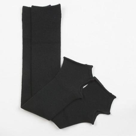Leg cover Junior Chacott 48 cm Black