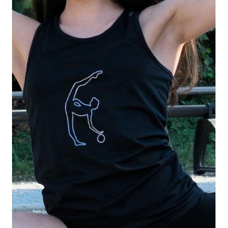 T-Shirt Mimi Strass Palla