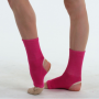 Colored warmers for ankles