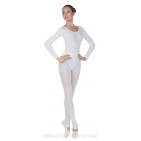 Tights Heel Cut-Out White