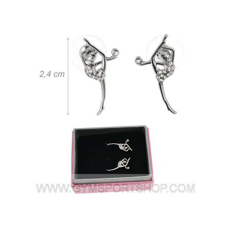 Gymnast with ball earrings 2.4