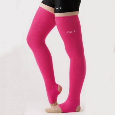Leg cover Pink Chacott