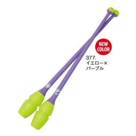 Rubber Clubs - 377 Yellow Violet - L455