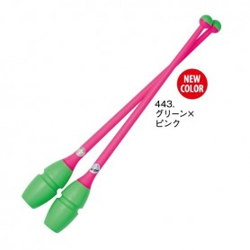 Rubber Clubs - 443 Green Pink - L455