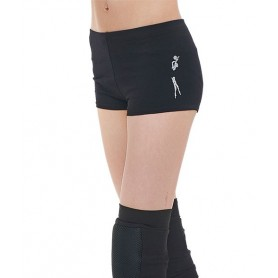 Shorts Altair Black + Silver figure