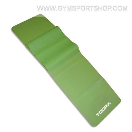 Fascia elastica latex-free - MEDIUM (verde lime) 150x15 cm. sp. 0,50 mm.