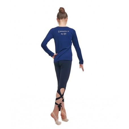 Maglietta NL a maniche lunghe Blu
