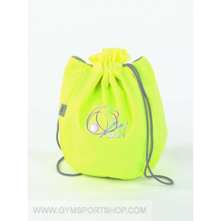 Fluo Yellow Ball Holder SOLO