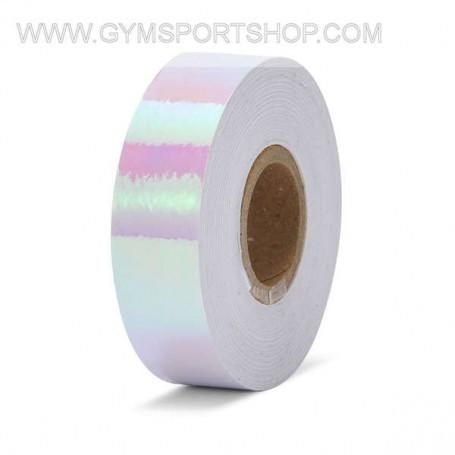 Iridescent White Adhesive Tape