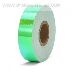 Nastro Adesivo Iridescente Verde Fluo