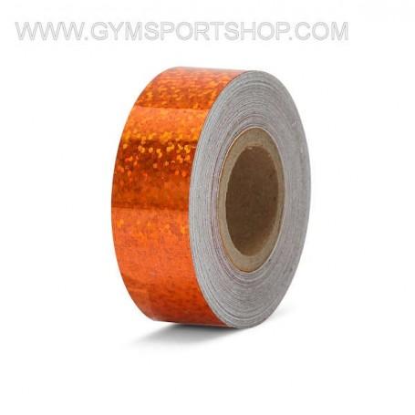 Nastro Adesivo Metalizzato Arancio