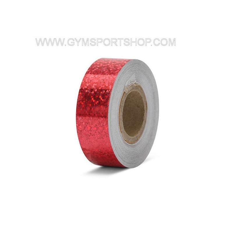 Nastro Adesivo Metalizzato Rosso