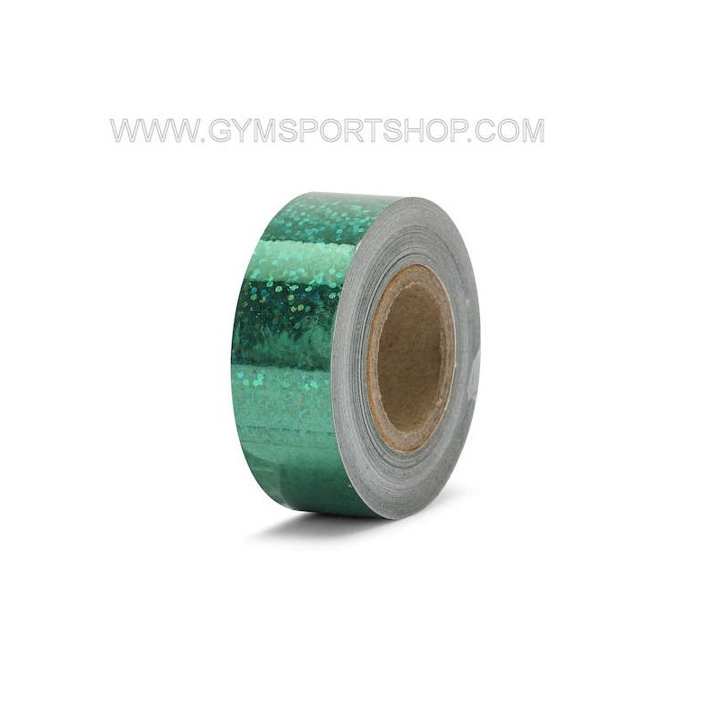 Adhesive Tape Green Metalized