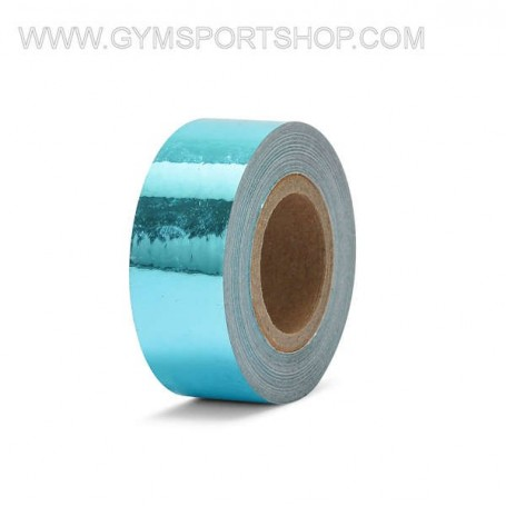Adhesive Tape Light Blue Mirrored