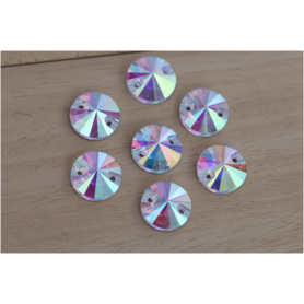 Strass Tondo Crystal 10MM (10 pz)