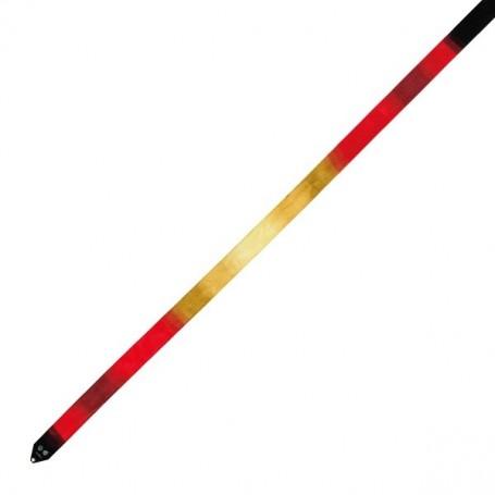 Gradation ribbon 6M - 754.Scarlet