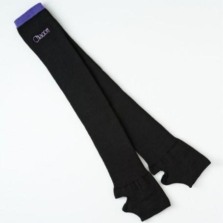 Leg cover Chacott 5318-32007 Black & Violet