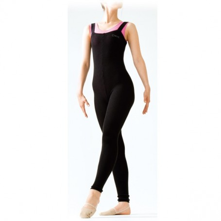 2 way stretch knit long tights Chacott S-M