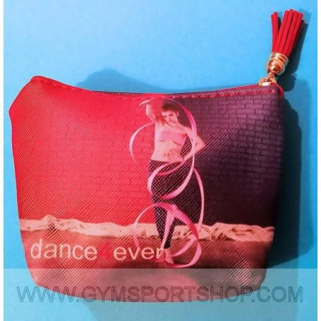 Bag with gymnast and ribbon