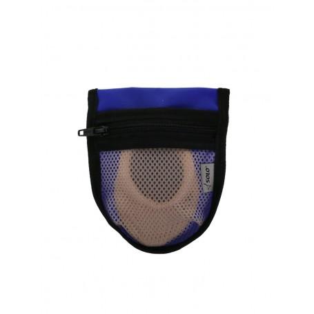 Porta Mezzepunte Blu SOLO