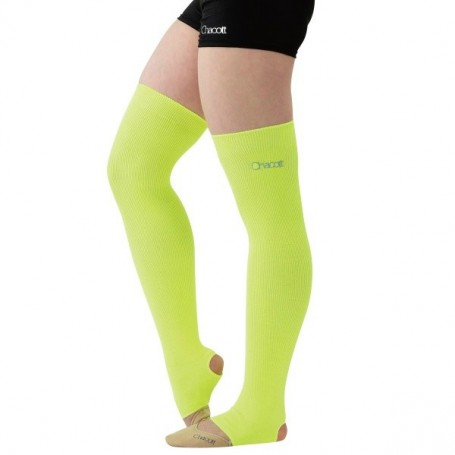 Middle Lenght Neon Legcover Yellow