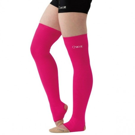 Middle Lenght Neon Legcover Pink
