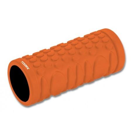 Rullo massaggio e Yoga 33 cm x d.14 cm (arancio/nero)