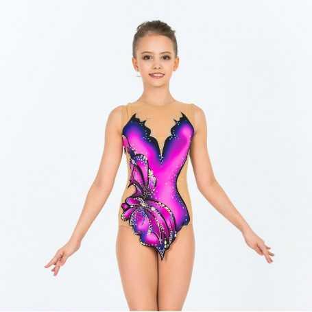 Body Mod. Farfalla Viola