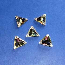 Strass Triangolo Crystal AB 16x16MM (10 pz)
