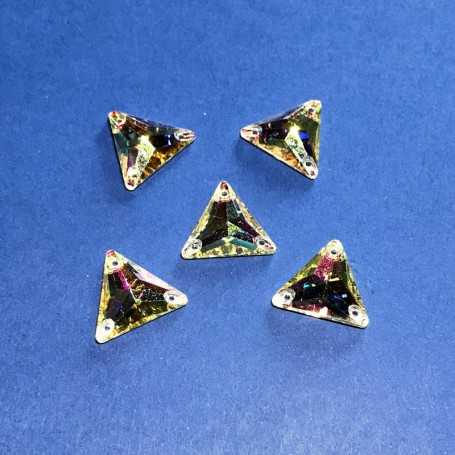 Strass Triangolo Crystal AB 16x16MM (10 pz)