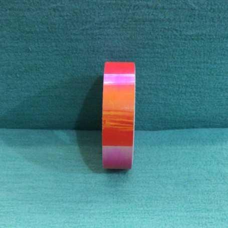 Nastro Adesivo Iridescente Arancio Fluo